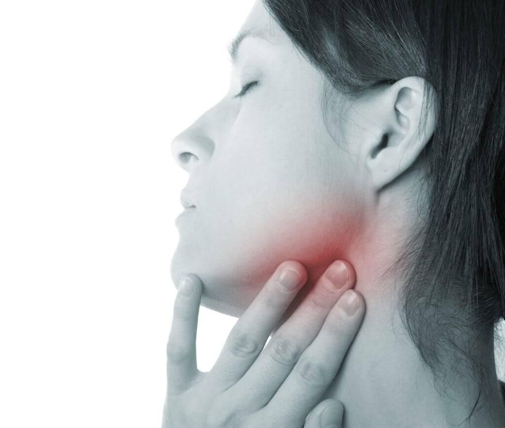 Болит левый лимфоузел на шее