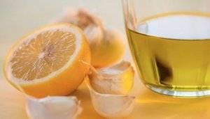 Средство из лимона чеснока и меда
