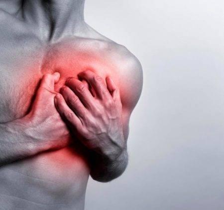 Колит в области сердца при вдохе