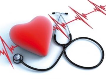 Резкое отклонение электрической оси сердца вправо