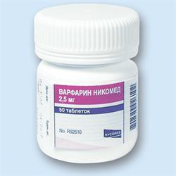 Прием варфарина – норма МНО, доза, диета, противопоказания и отзывы